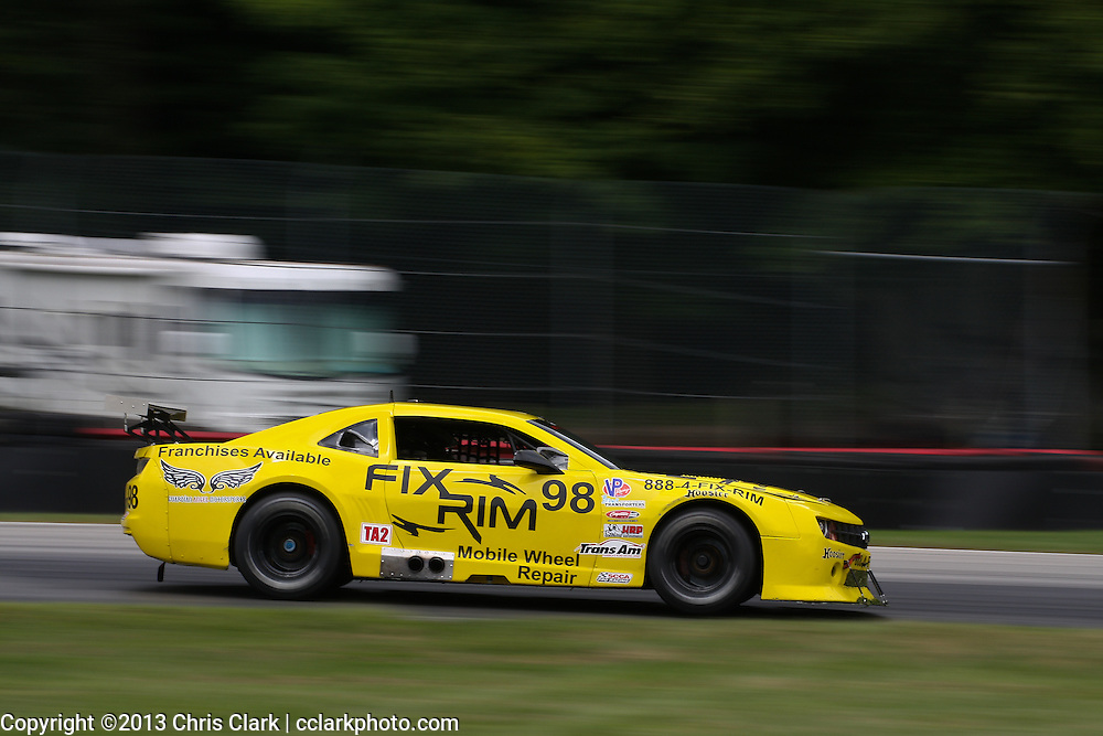 Trans Am Road Racing from the Mid-Ohio Sports Car Course 2013