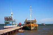 Boats in La Coloma, Pinar del Rio, Cuba.