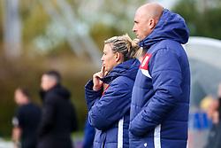 Tanya Oxtoby manager of Bristol City Women and Chris Roberts assistant coach for Bristol City Women - Mandatory by-line: Ryan Hiscott/JMP - 14/10/2018 - FOOTBALL - Stoke Gifford Stadium - Bristol, England - Bristol City Women v Birmingham City Women - FA Women's Super League 1