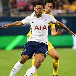 (L-R) Mousa Dembele of Spurs and Adrien Rabiot of PSG during the International Champions Cup match between Paris Saint Germain and Tottenham Hotspur on July 22, 2017 in Orlando, United States. (Photo by Dave Winter/Icon Sport)