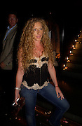 "Kelly Hoppen. after-show party following the opening night of  at Wyndham's Theatre of ""As You Like It"", at Mint Leaf, Suffolk Place, London.  on June 21, 2005. ONE TIME USE ONLY - DO NOT ARCHIVE  © Copyright Photograph by Dafydd Jones 66 Stockwell Park Rd. London SW9 0DA Tel 020 7733 0108 www.dafjones.com"