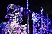 Het IJsbeelden Festival presenteert '200 jaar Koninkrijk der Nederlanden', een vorstelijke geschiedenis in ijs en sneeuw.<br /> <br /> Op de foto: IJssculptuur
