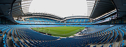 MANCHESTER, ENGLAND - Saturday, November 21, 2015: Liverpool's xxxx in action against Manchester City during the Premier League match at the City of Manchester Stadium. (Pic by David Rawcliffe/Propaganda)