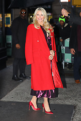 Christie Brinkley is all smiling while leaving the AOL Build studios in New York City. 29 Jan 2019 Pictured: Christie Brinkley. Photo credit: MEGA TheMegaAgency.com +1 888 505 6342