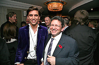 Mika and Lucian Grainge