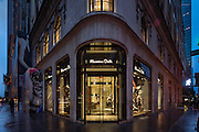 Inditex Corporation's Massimo Dutti flagship store on FIfth Avenue in New York City.
