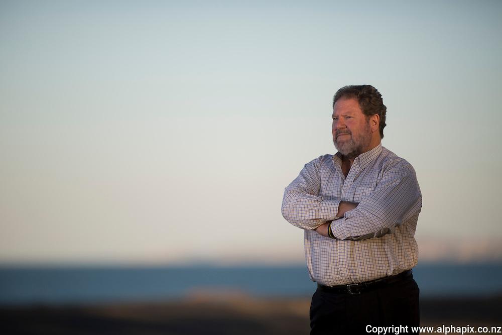 Bill Dalton, standing for Napier Mayor, Napier,  New Zealand, Monday, 29 April, 2013. Credit: John Cowpland / alphapix