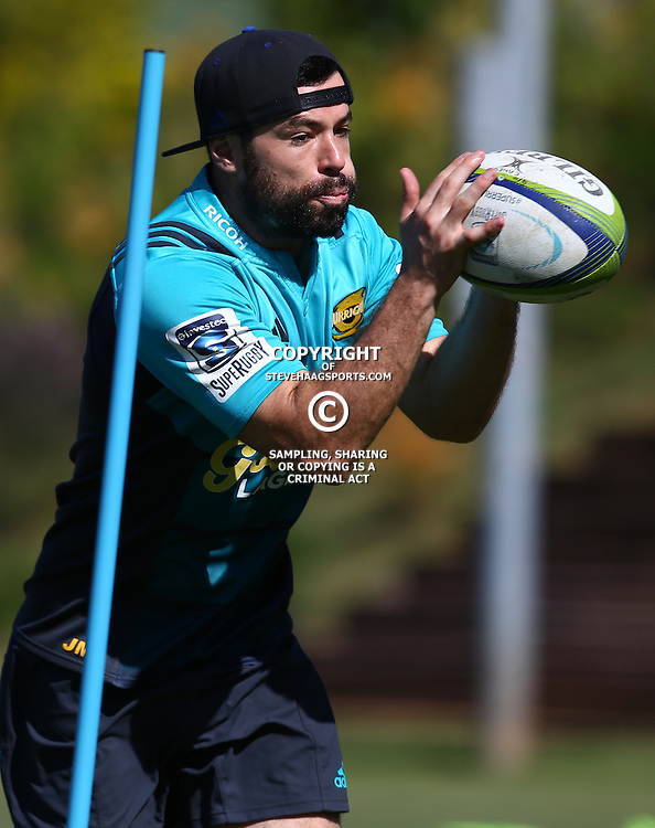 DURBAN, SOUTH AFRICA, 5, May 2016 - James Marshall during the Hurricanes training session held at Northwood School Durban North , (Photographer Steve Haag) <br /> <br /> Images for social media must have consent from Steve Haag
