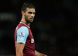 Andy Carroll of West Ham United  - Mandatory byline: Jack Phillips/JMP - 07966386802 - 22/09/2015 - SPORT - FOOTBALL - Leicester - King Power Stadium - Leicester City v West Ham United - Capital One Cup Round 3