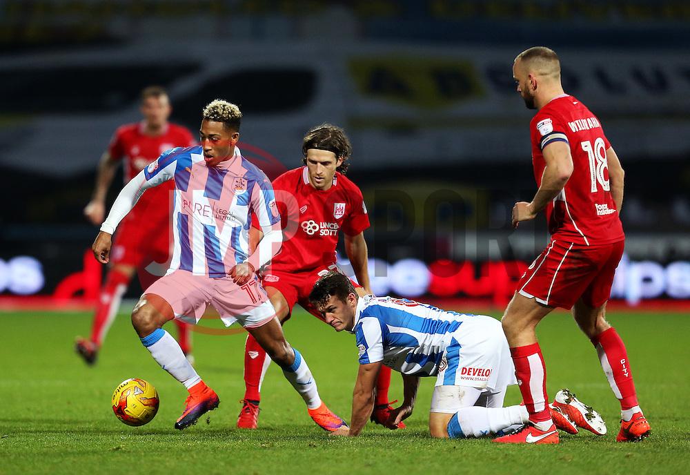 Rajiv van La Parra of Huddersfield Town in action - Mandatory by-line: Matt McNulty/JMP - 10/12/2016 - FOOTBALL - The John Smith's Stadium - Huddersfield, England - Huddersfield Town v Bristol City - Sky Bet Championship