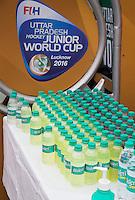 LUCKNOW (India) -   Junior World Cup hockey  U21 for men .  Germany v Spain . drinks  COPYRIGHT  KOEN SUYK