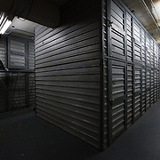 WASHINGTON, DC-OCT14: Many of the area homeless have possessions they want to keep safe, just nowhere permanent to live, so they store their belongings at Capital Self-Storage, where an upper-level unit costs $30/month. Some of the homeless patrons also spend their days in their storage units, when shelters are closed during midday hours. The storage facility near 3rd and Florida Avenue in Northeast, Washington, DC, is about to be replaced by a boutique hotel. (Photo by Evelyn Hockstein/For The Washington Post)