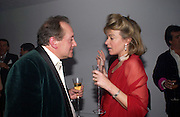 Sir John Becher and Mrs. Alex Stewart, Conservative Party - private fundraiser<br />Shepherds Bush Pavilion. 13 May 2004. SUPPLIED FOR ONE-TIME USE ONLY> DO NOT ARCHIVE. © Copyright Photograph by Dafydd Jones 66 Stockwell Park Rd. London SW9 0DA Tel 020 7733 0108 www.dafjones.com