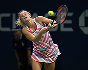 Katerina Siniakova of the Czech Republic in action during her first round match at the 2018 US Open Grand Slam tennis tournament, at Billie Jean King National Tennis Center in Flushing Meadow, New York, USA, August 28th 2018, Photo Rob Prange / SpainProSportsImages / DPPI / ProSportsImages / DPPI
