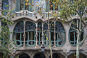Casa Battló by Gaudi, Barcelona