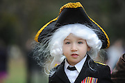 10/31/14 4:09:35 PM -- Mount Vernon, VA, U.S.A  -- George Washington's Mount Vernon opens its doors for trick-or-treating -- Liam Barry, 2, of Alexandria, Va., came as George Washington, appropriately enough.   Photo by H. Darr Beiser, USA TODAY Staff ORG XMIT:  HB 131986 Mt. Vernon Hallo 10/31/2014 (Via OlyDrop)