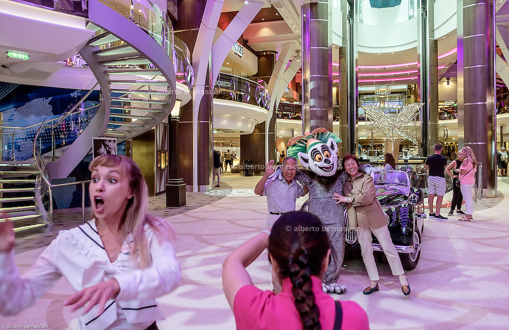 Royal Caribbean, Harmony of the Seas, souvenir photoshootings