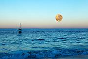Super Moon Cottesloe beach Nov 14 2016