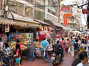 02 MARCH 2008 -- BANGKOK, THAILAND:   Street scene of Chinatown in Bangkok, Thailand.   Photo by Jack Kurtz/ZUMA Press