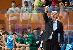 Ales Pipan, coach of Zlatorog during 2nd Leg basketball match between KK Helios Suns and KK Zlatorog Lasko in Final of Nova KBM Champions League  2015/16, on May 31, 2016 in Hala Komunalnega centra, Domzale, Slovenia Photo by Vid Ponikvar / Sportida