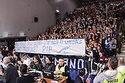 DESCRIZIONE : Campionato 2014/15 Serie A Beko Dinamo Banco di Sardegna Sassari - Acqua Vitasnella Cantu'<br /> GIOCATORE : Commando Ultra' Dinamo<br /> CATEGORIA : Striscione Tifosi Pubblico Spettatori Ultras<br /> SQUADRA : Dinamo Banco di Sardegna Sassari<br /> EVENTO : LegaBasket Serie A Beko 2014/2015<br /> GARA : Dinamo Banco di Sardegna Sassari - Acqua Vitasnella Cantu'<br /> DATA : 28/02/2015<br /> SPORT : Pallacanestro <br /> AUTORE : Agenzia Ciamillo-Castoria/L.Canu<br /> Galleria : LegaBasket Serie A Beko 2014/2015