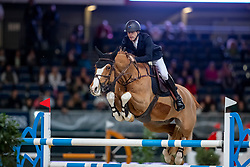 Devos Pieter, BEL, Apart<br /> LONGINES FEI Jumping World Cup <br /> Grand Prix of Stuttgart presented by Mercedes-Benz<br /> German Masters  - Stuttgart 2018<br /> © Hippo Foto - Dirk Caremans<br /> 18/11/2018