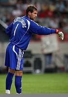 Photo: Maarten Straetemans.<br /> Arsenal v Ajax. LG Amsterdam Tournament. 04/08/2007.<br /> Maarten Stekelenburg (Ajax)