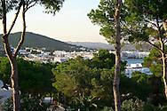 Views from Santa Eulalia Village.