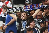 tifosi Barcellona supporters <br /> Berlino 05-06-2015 OlympiaStadion  <br /> Juventus Barcelona - Juventus Barcellona <br /> Finale Final Champions League 2014/2015 <br /> Foto Matteo Gribaudi/Image Sport/Insidefoto