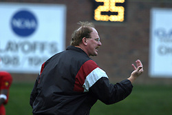 Coach Denver Johnson summons the official for an explaination.