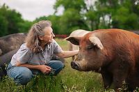 American AgCredit, Kansas, Walton, Paula Sims, Morning Harvest Farm, organic, animals, farm