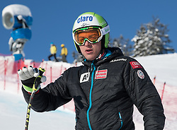 18.01.2017, Hahnenkamm, Kitzbühel, AUT, FIS Weltcup Ski Alpin, Kitzbuehel, Abfahrt, Herren, 2. Training, Streckenbesichtigung, im Bild Frederic Berthold (AUT) // Frederic Berthold of Austria during the course inspection for the 2nd practice run of men's Downhill of FIS Ski Alpine World Cup at the Hahnenkamm in Kitzbühel, Austria on 2017/01/18. EXPA Pictures © 2017, PhotoCredit: EXPA/ Johann Groder