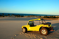 buggy tour on sand dune of cumbuco in ceara state brazil