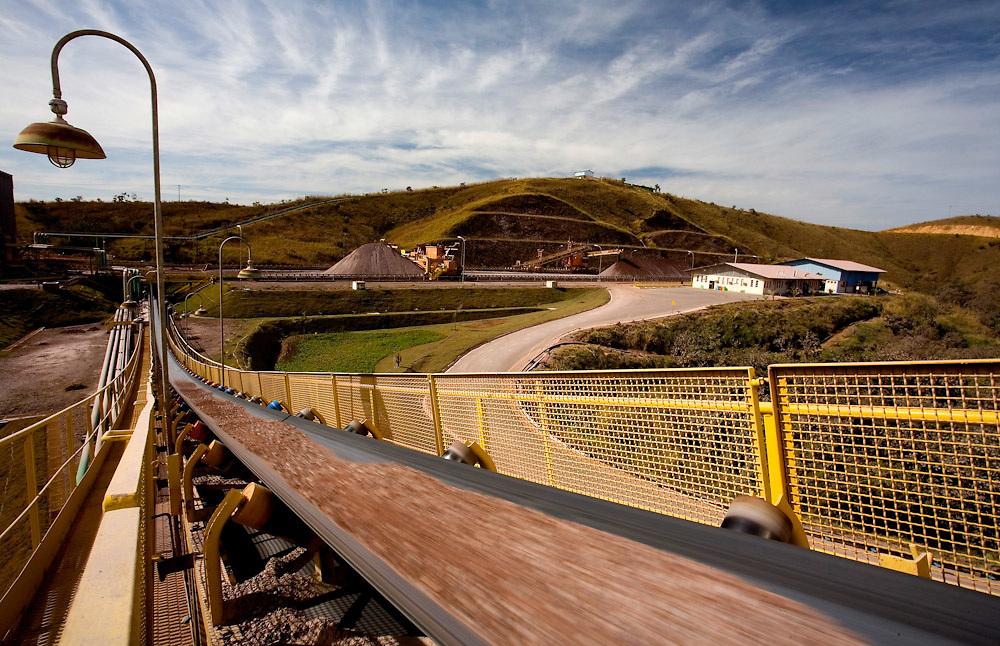 Vazante_MG, Brasil...Mineracao em Vazante, Minas Gerais...The minering in Vazante, Minas Gerais...Foto: LEO DRUMOND /  NITRO