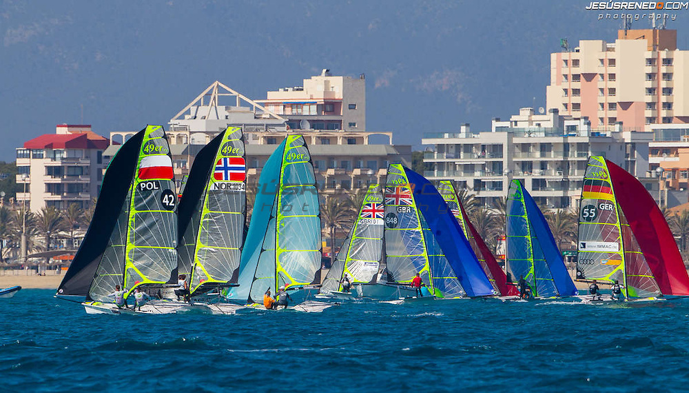 Palma de Mallorca, Spain, Arenal Training Camps 2014. Last Day of Racing, March 15th 2014