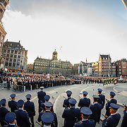 NLD/Amsterdam/20160504 - Nationale Dodenherdenking 2016 Dam Amsterdam, overzicht
