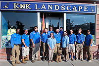 KNK staff and job site 08-29-18