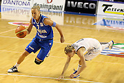 Taranto 05-06-2011<br /> Qualifying Tournament Eurobasket Women 2011<br /> Italia-Germania<br /> Nella foto Francesca Zara<br /> Foto di Ciamillo-Castoria