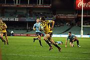 Conrad Smith goes over to score. Waratahs v Hurricanes. 2012 Super Rugby round 15 match. Allianz Stadium, Sydney Australia on Saturday 2 June 2012. Photo: Clay Cross / photosport.co.nz