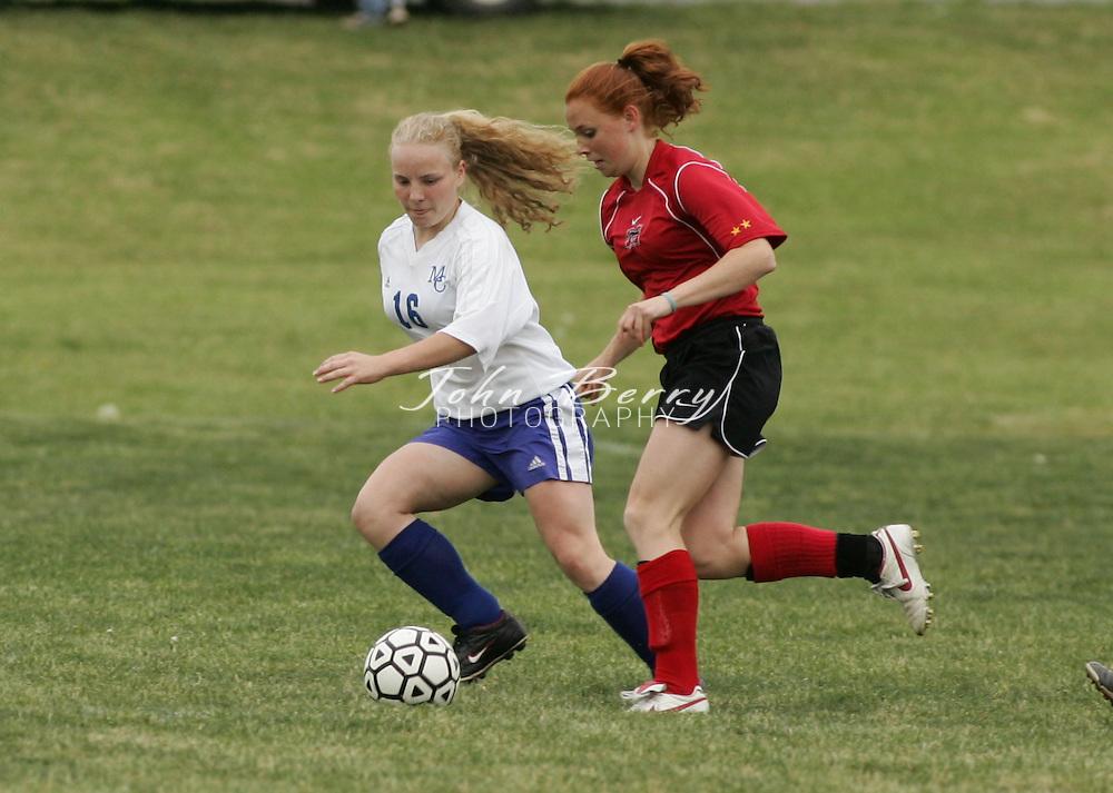 MCHS Varsity Soccer vs George Mason, on Friday.May 13, 2005