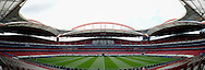 General Views of Estádio da Luz, Lisbon **Note to editors, this image has been stitched together with software**<br /> Picture by Ian Wadkins/Focus Images Ltd +44 7877 568959<br /> 23/05/2014