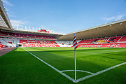 General view inside the Stadium of Light, Sunderland, England before the EFL Sky Bet League 1 match between Sunderland and AFC Wimbledon on 24 August 2019.