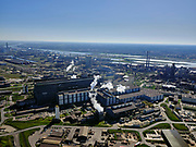 Nederland, Noord-Holland, IJmuiden, 23-03-2020; Velsen-Noord, Tata Steel. Oxystaalfabriek.<br /> Tata Steel industrial site, steel works.<br /> luchtfoto (toeslag op standaard tarieven);<br /> aerial photo (additional fee required)<br /> copyright © 2020 foto/photo Siebe Swart