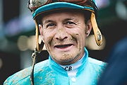 November 1-3, 2018: Breeders' Cup Horse Racing World Championships. Jockey Calvin Borel