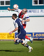 Gary Harkins and Jonathon Flynn - Ross County v Dundee - IRN BRU Scottish Football League First Division at Victoria Park<br /> <br /> <br /> <br /> http://www.davidyoungphoto.co.uk