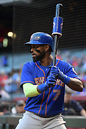 PHOENIX, AZ - MAY 16:  Jose Reyes #7 of the New York Mets warms up in the on deck circle during the MLB game against the Arizona Diamondbacks at Chase Field on May 16, 2017 in Phoenix, Arizona. The Arizona Diamondbacks won 5-4.  (Photo by Jennifer Stewart/Getty Images)