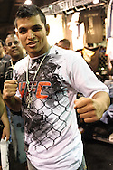 LAS VEGAS, NEVADA, JULY 10, 2009: Efrain Escudero poses for a photograph during the UFC Fan Expo inside the Mandalay Bay Convention Centre in Las Vegas, Nevada