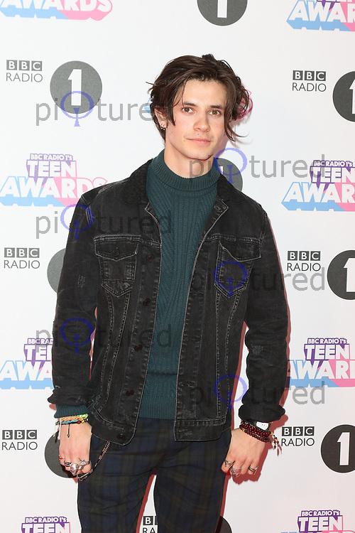 Cel Spellman, Radio 1 Teen Awards, SSE Arena Wembley, London UK, 22 October 2017, Photo by Richard Goldschmidt