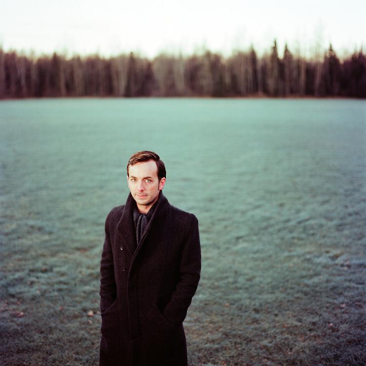 ANCHORAGE, ALASKA - 2012: Kris Swanson.