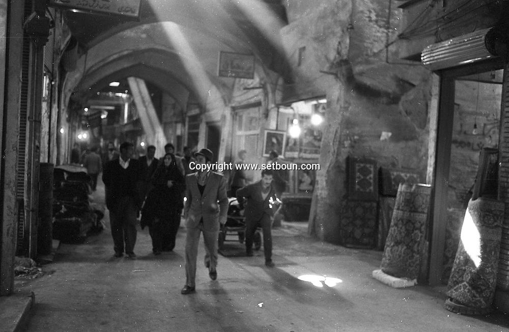 Iran - 11/12/1978 - the old bazar - Tehran - Iran   /// scenes diverses dans la bazar - Iran  /// IRAN25200 85